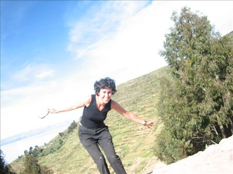 auto timed photo of me, isla del sol