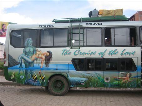 our bus to la paz