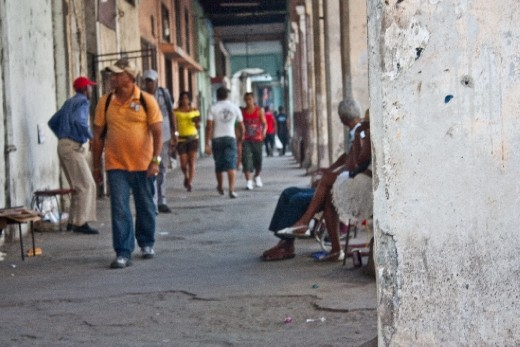 "Unlike the crumbling look of Havana, Cubans are usually are well-dressed. There is a contrast between the ""subjective"" look of the people the buildings they live in!"