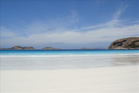 Lucky Bay in Cape le Grand NP