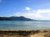 Back in Tongue Bay to re-board the boat under a blessed patch of blue sky.: by leah, Views[221]