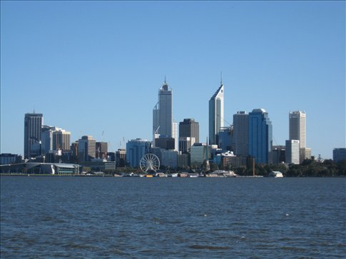 View of the city from South Perth