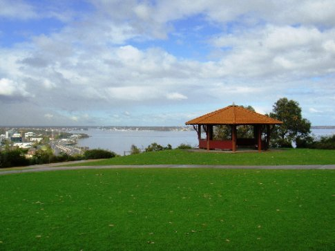 King's Park overlooking the Swan River.