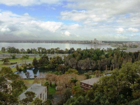 View from atop King's Park