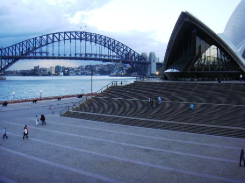 Harbour Bridge and the Opera House
