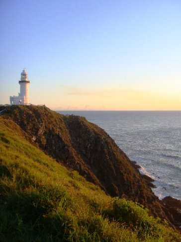 Our sunrise hike to the Byron Bay lighthouse.