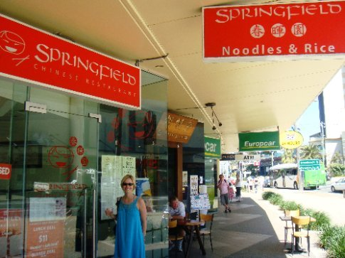 I think we would both say the highlight of the Surfers Paradise portion of our trip was coming across this small eatery - Springfield Chinese Restaurant!