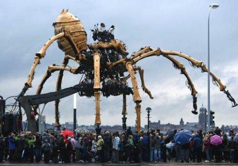 la machine spider again