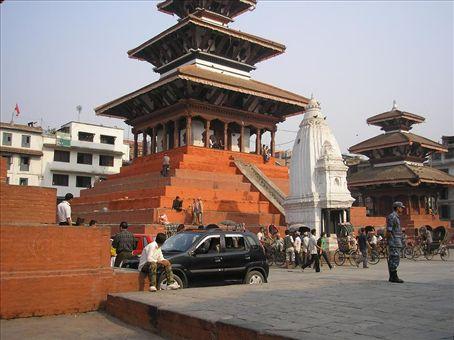 Durbur Square in Kathmandu