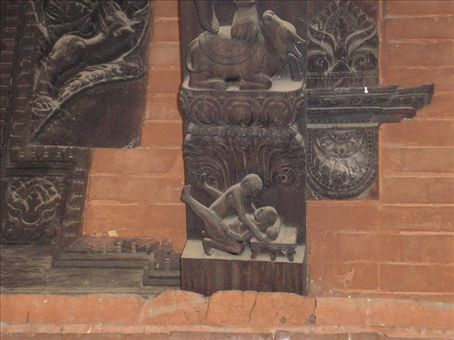 a hindu statue giving advice on getting pregnant - karma sutra fertility god