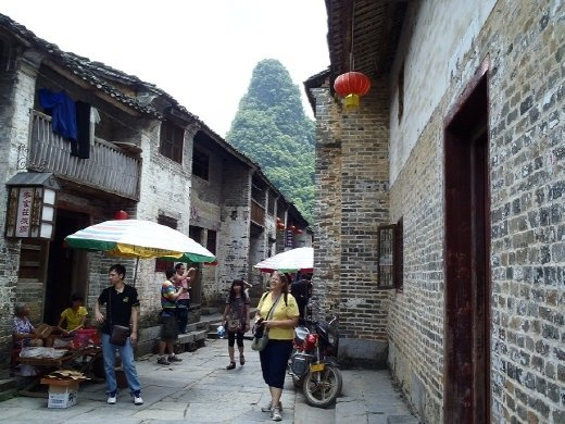 Huang Yao - preserved ancient city.
