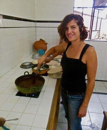 Leela Cooking Mole
