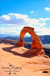 The Delicate Arch @ Arches National Park  Moab, Utah: by lensgypsy, Views[152]