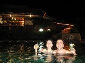 Chilling out at Tabacon spa - Una de mojitos en las termas: by lenuka, Views[458]