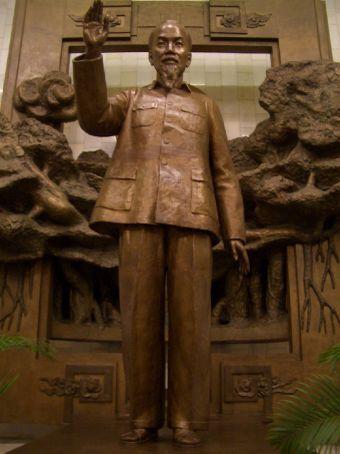 No museu de Ho Chi Minh