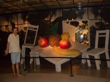 Esse museu é mucho louco: O que que isso, por exemplo, tem a ver com Ho Chi Minh?!