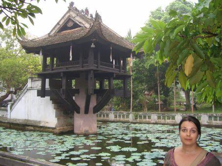 A pagoda de um pilar