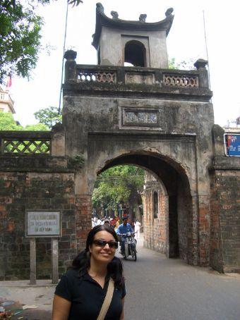 Um dos portões antigos da cidade