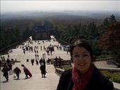 Em Nanjing, no Mausoléu de Sun Yatsen: by leo, Views[219]