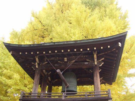 No Templo de Hida Kokubun-ji