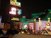 Me in front of our hotel, the MGM Grand, Las Vegas.: by les, Views[184]