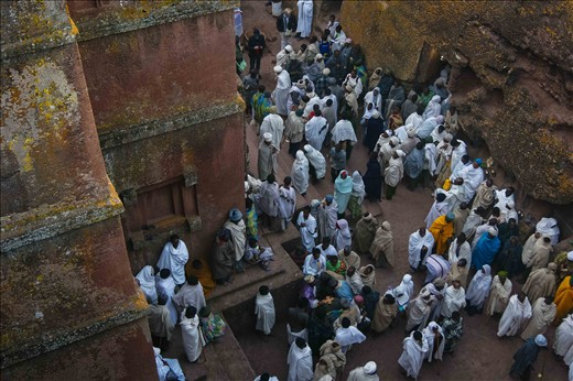 In the 1500s, King Lalibela had 11 churches hewn from a 'mother rock' in order to create a holy place below ground safe for pilgrims to worship and evade detection. The result was so captivating that the first European to enter the site wrote