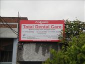 Sign for the dentist in Jaipur!  (photo: Cheryl Weber) : by libana, Views[455]