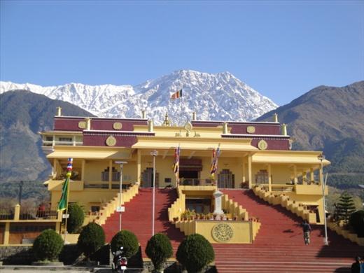 Where we met with the Karmapa   (photo: Allison Coleman)