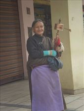 A Tibetan woman in Dharamsala