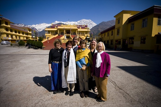 After our audience with the Karmapa  (photo: Jared Weber Mattes)