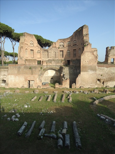 Ruins in central Rome