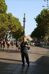 Monumento a Colón desde la rambla: by lidia_y_alberto, Views[390]