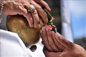 Tirta (holy water) as an medium for sacred cleansing in any ceremonies : by lifejourney, Views[229]