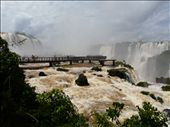 The catwalk to the falls: by ligia-richard, Views[209]