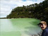 The green lake at Wai-o-Tapu: by ligia-richard, Views[275]