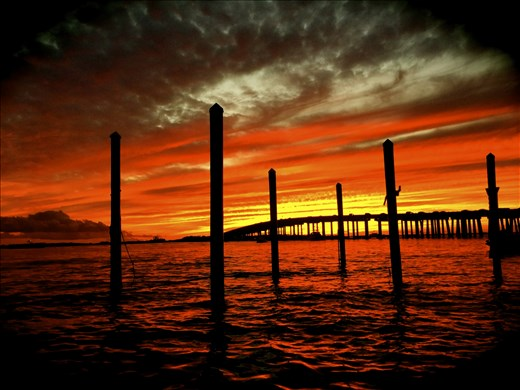 Reflection:  the sky never ceases to amaze me, Destin, FL
