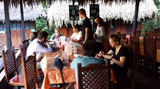 Samona Lodge lunch