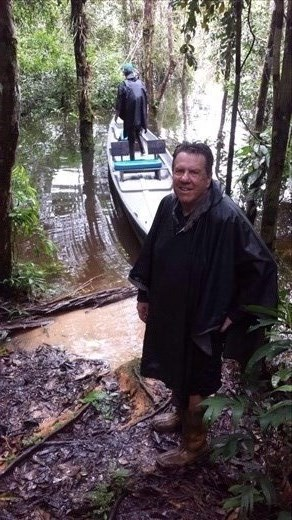 Great day,hiking and boating in the rainforest.