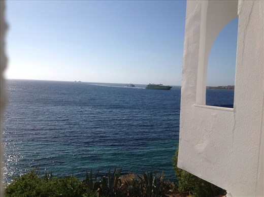 Paros view from hotel