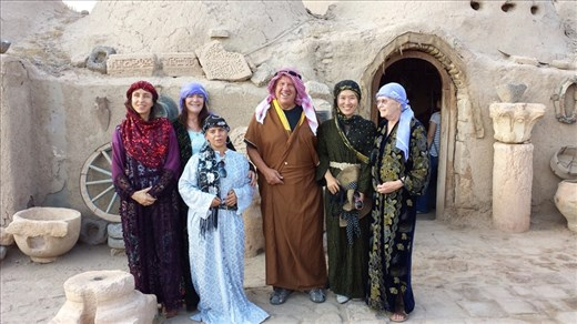 The only guy in the group, I was called the Lord. It's not easy being me. It is my understanding that in this part of Turkey men sometimes have three or four wives. Somewhat related, I heard women in conservative parts of Turkey are not permitted to drive cars.