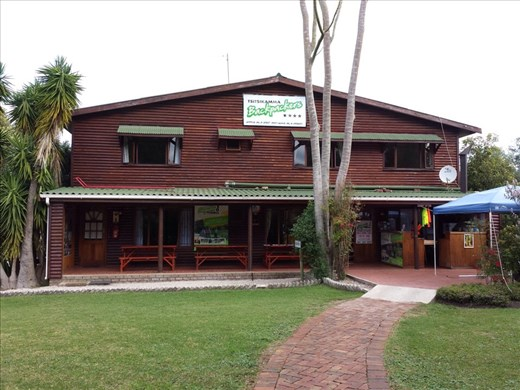 Hostel in Stormsriver. Room, dinner  and mountain bike rental for under $35