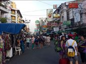 Khao San Road, Bangkok. It's referred to as the backpackers ghetto. Fun place to walk around and have a couple of beers.  : by lipowcan8, Views[292]