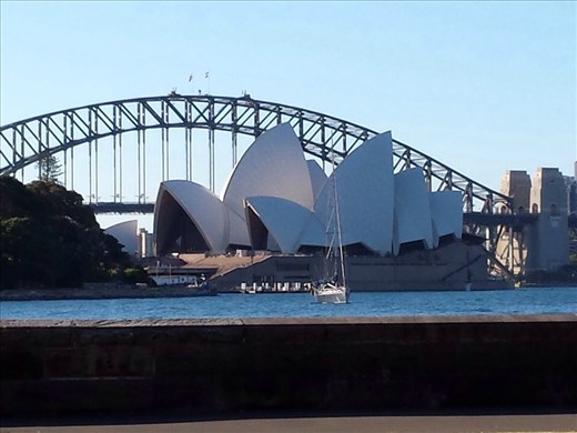 Hard not to take lots of pictures of the opera house.