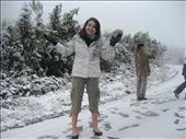 Not really dressed for playing in the snow !: by lisa-amy, Views[309]