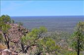 This is the view of the land around burke from Mt Oxsley: by lisa123, Views[101]