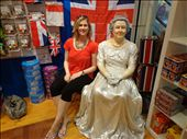 Meeting the Queen!  At the English shop in Melbourne: by lisaj72, Views[137]