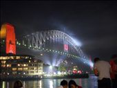 Harbour bridge after the fireworks: by lisaj72, Views[421]