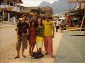 Billy, Eniav, Tim, Me & Jimmy, Vang Vieng: by lisamorrison, Views[325]