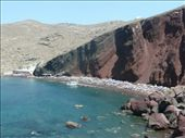 The Red Beach....we were to lazy to actually go there, we just took a picture and went elsewhere.: by lisy, Views[111]