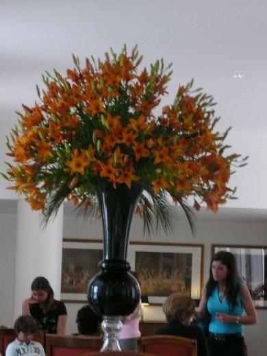 Gigantic Floral arrangement...I think it is taller than me!
